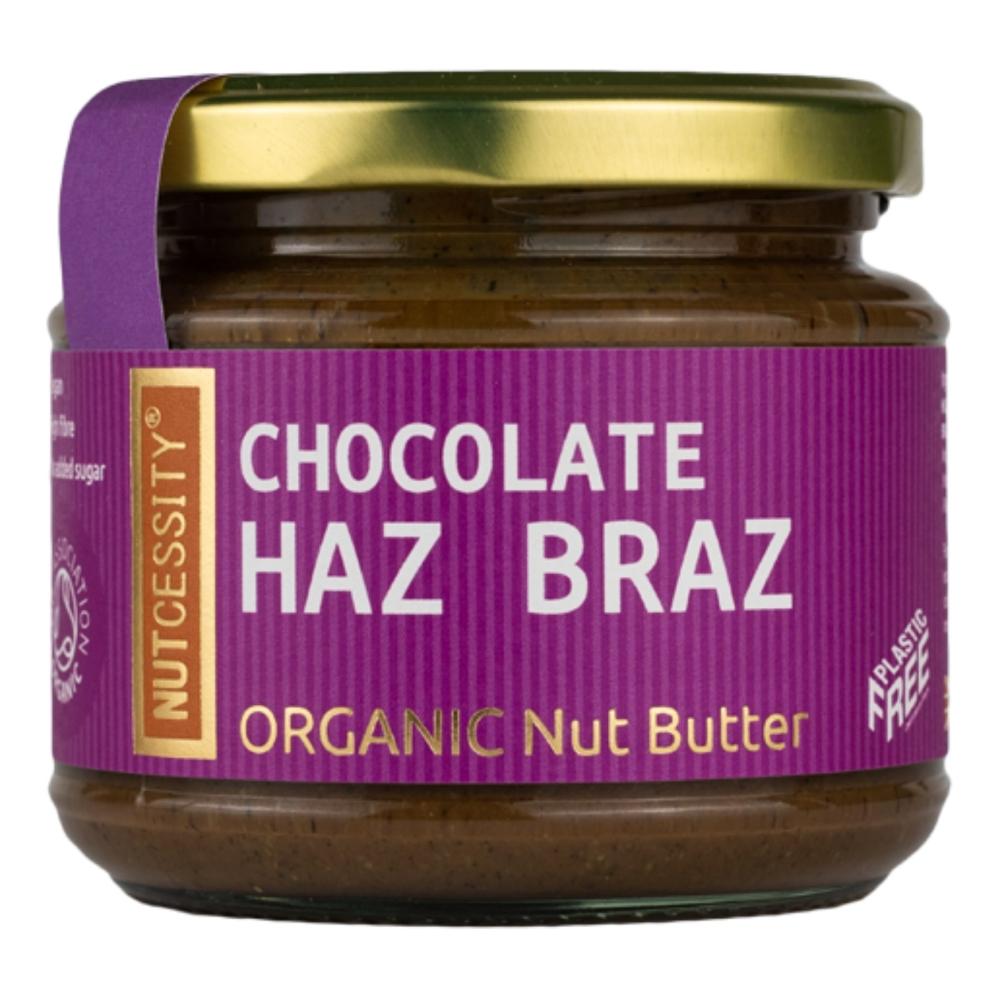 Nutcessity chocolate 'Haz Braz' organic nut butter