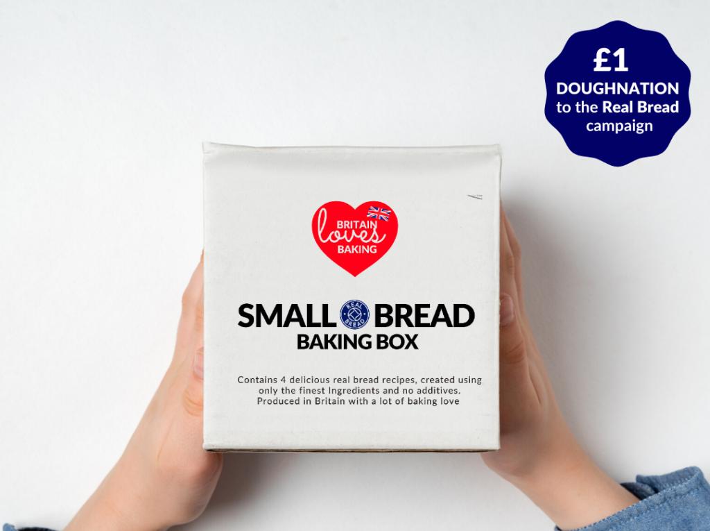 Small bread baking box