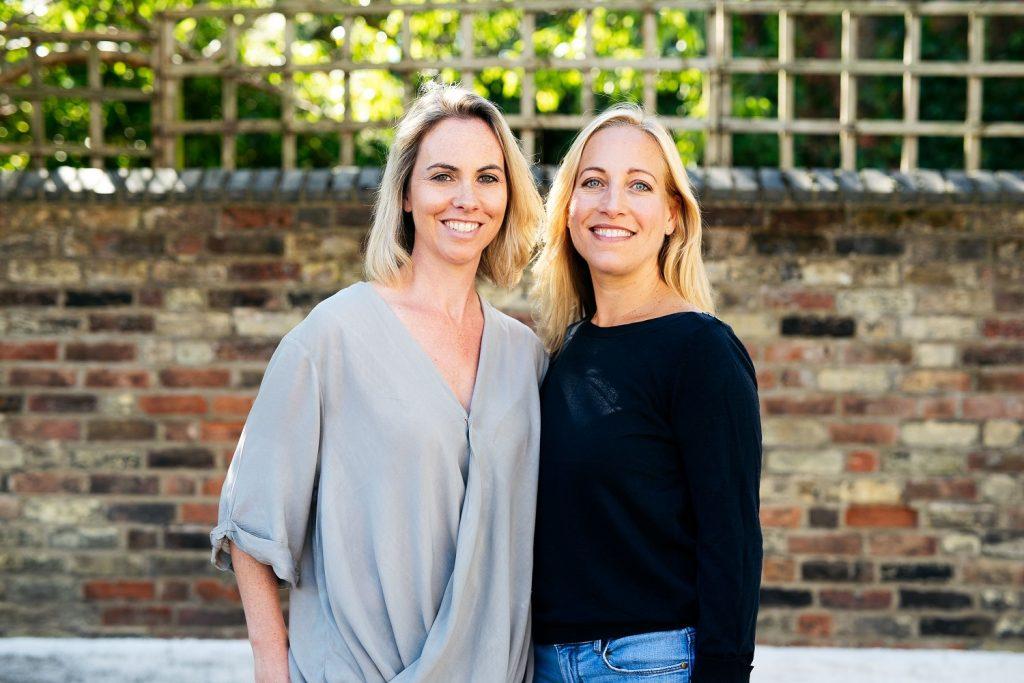 Tessa and Saasha, founders of OLIO