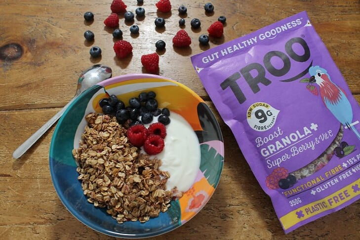 Troo SuperBerry Granola Granola+ Fruit Cereal